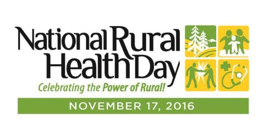 Celebrate Rural Health Day 2016!