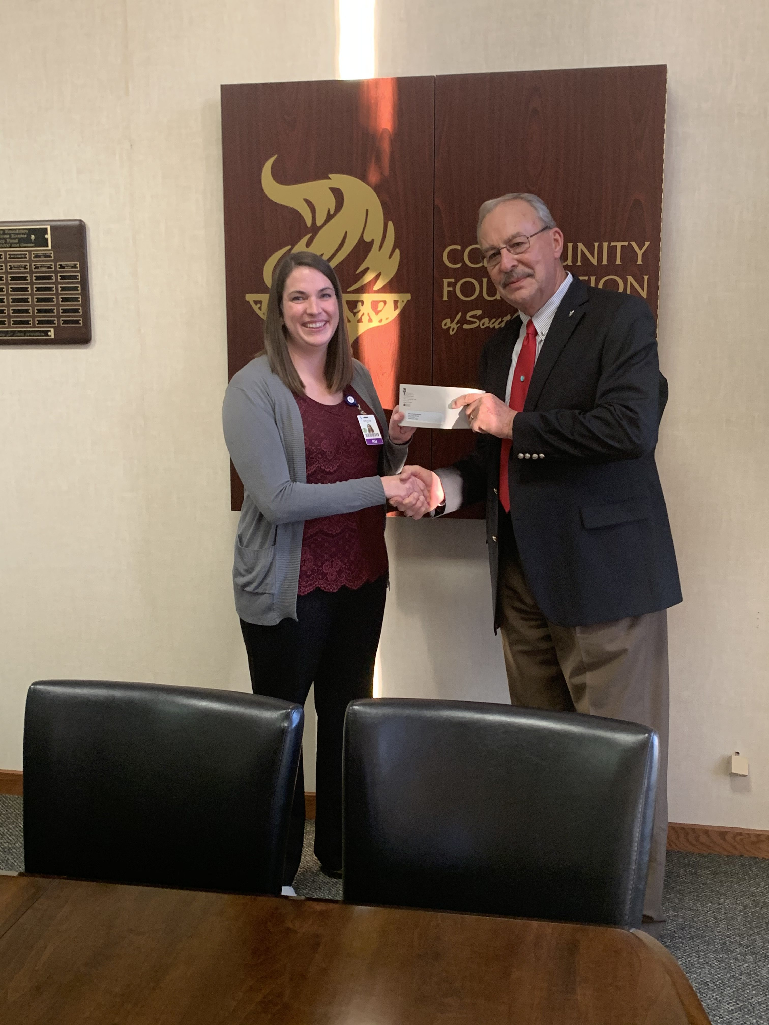 The Community Foundation of Southwest Kansas awards grants to Artesian Valley Health System.